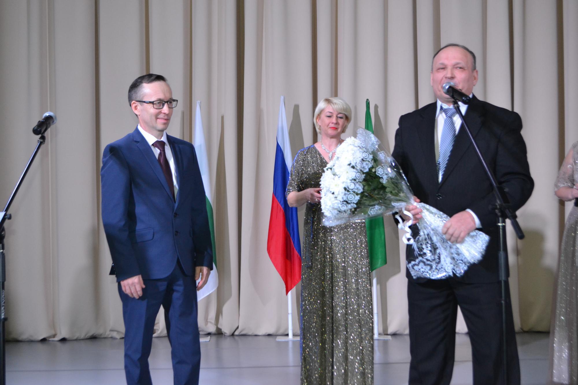 Поздравление главе района с инаугурацией главы